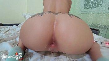 Vídeo de sexo anal garota novinha safadinha  loirona safada trepando cavalgando bem safada e gostosa