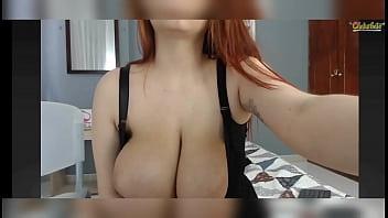 Show na webcam ruiva boazuda gostosinha na quarentena da putaria